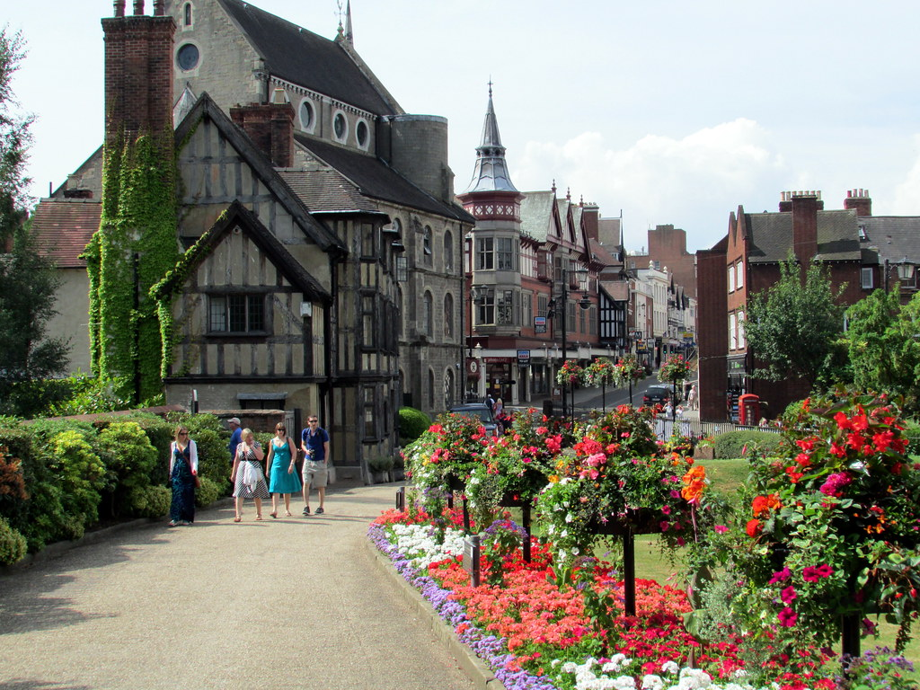 Castle Street, things to do in Shrewsbury
