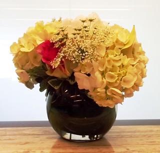 Pressed flowers: Anniversary bouquet