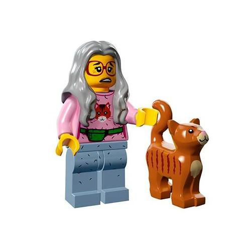 The LEGO Movie Minifigures Mrs Scratchen-Post