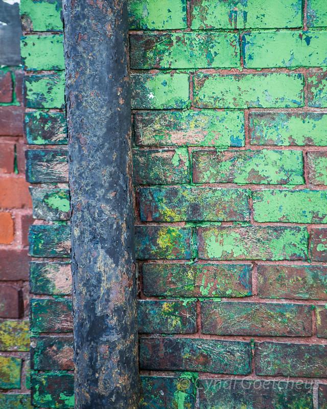 brick wall cjane wabi sabi