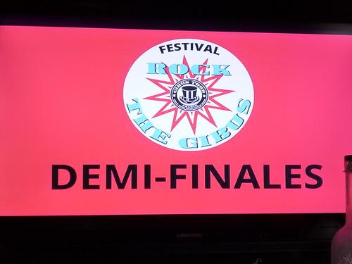 Demi-finales Tremplin Gibus Rock - 29 juin 2013