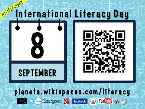 September 8 is International Literacy Day #LiteracyDay #UNESCO @UNESCO