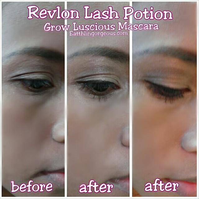 Revlon Lash Potion Grow Luscious Waterproof Volume & Length Mascara review
