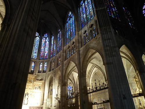 Choir, Santa Maria de Leon