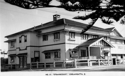 Strandcourt Flats at Coolangatta - 1950s