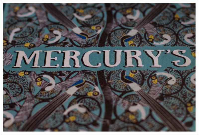 El menú del Mercury's