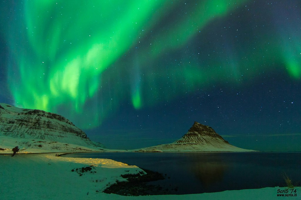 Kirkjufell Northern Lights (Iceland)  #Kirkjufell #iceland #aurora #northernlights #landscape #night #auroraborealis