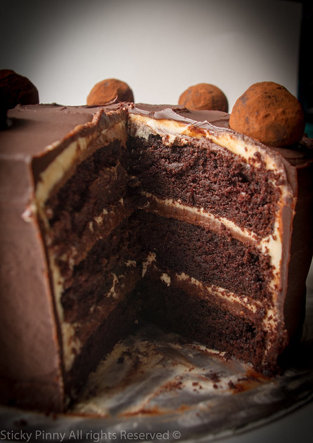 Sticky Pinny Salted Caramel Chocolate Cake 4