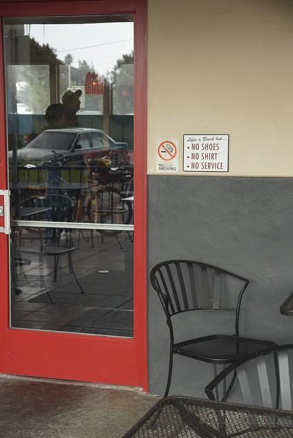 anti-naturist 0000 cafe, CA, USA