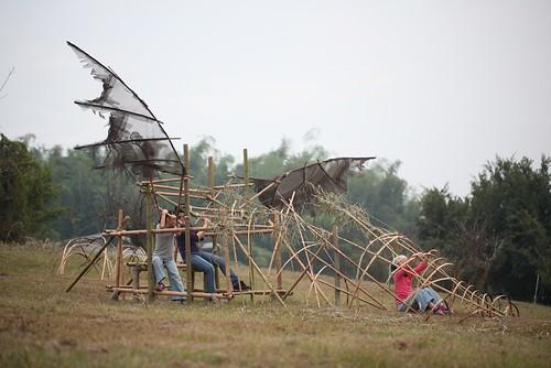 【Video】好好玩的作品:南藝大「夢.十七」竹製裝置藝術(9.4ys)