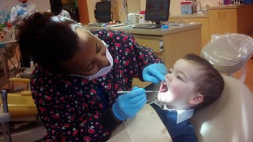 Sagan Dentist - February 25 - Getting Examined
