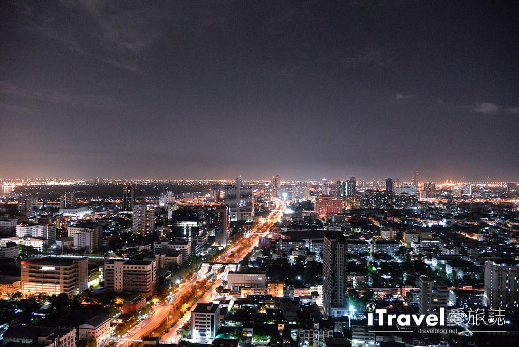 《曼谷高空酒吧》ZOOM Sky Bar:安纳塔拉酒店360度景观