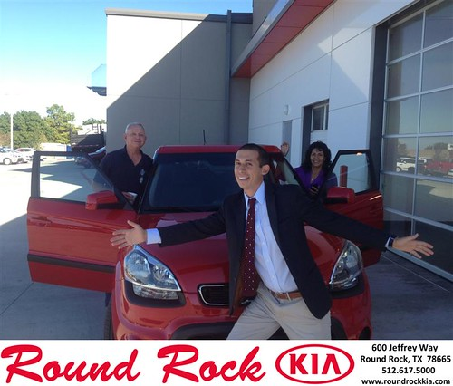 Thank you to Josefina Procter on your new 2013 #Kia #Soul from Derek Martinez and everyone at Round Rock Kia! #RidingInStyle by RoundRockKia