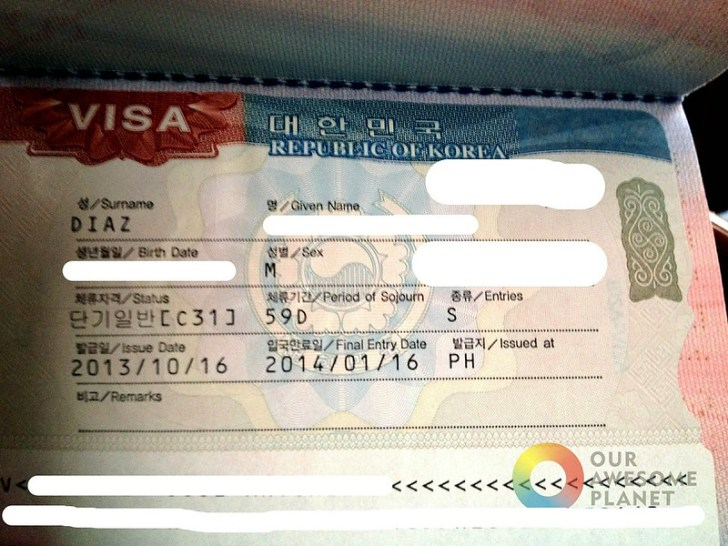 KOREAN VISA: How to Apply for South Korean Visa in Manila