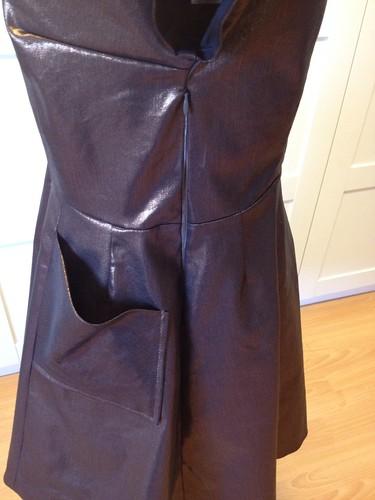 2013 party dress zipper
