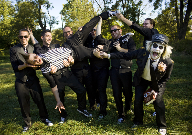 Lets pay homage to Tim Burton weddings