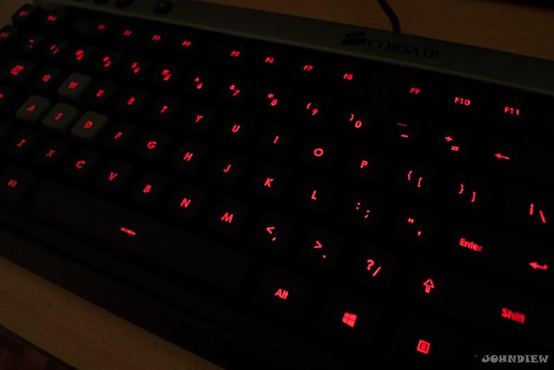 Corsair Raptor K30 and K50 Gaming Keyboards 18