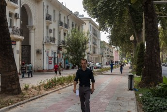 Rudaki avenue.