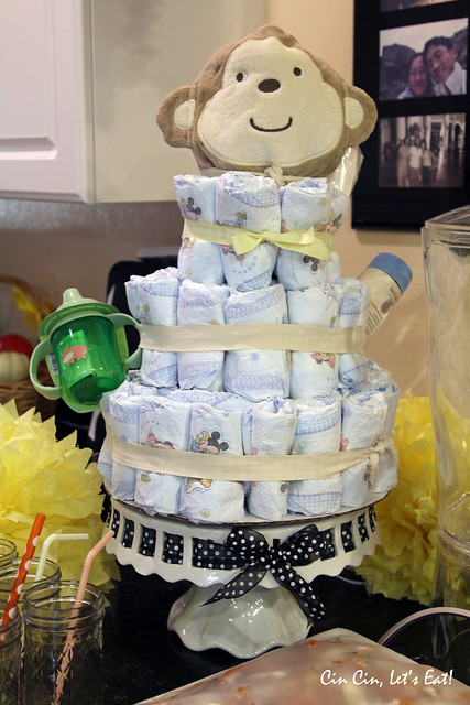 baby shower - diaper cake
