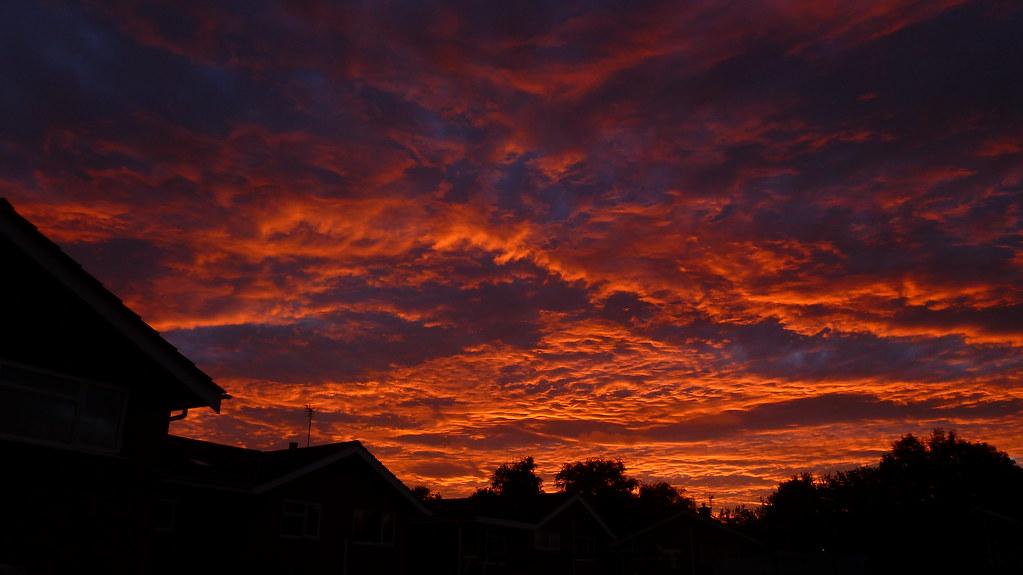Madley, Sunset
