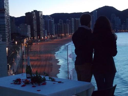 San Valentin en Benidorm