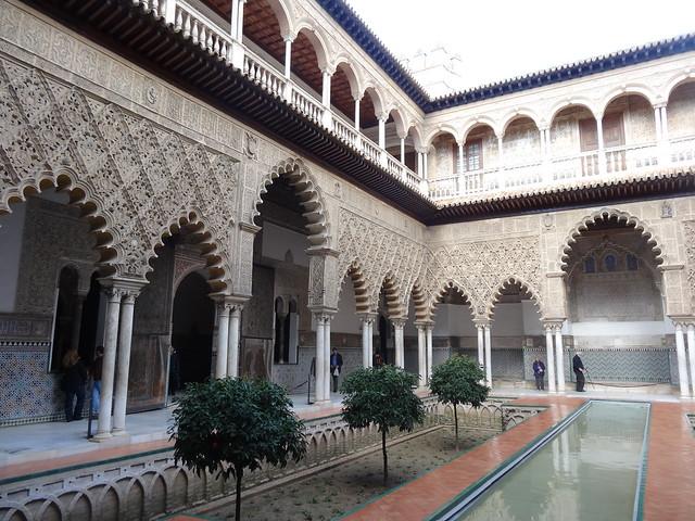 Inner courtyard, Alcazar