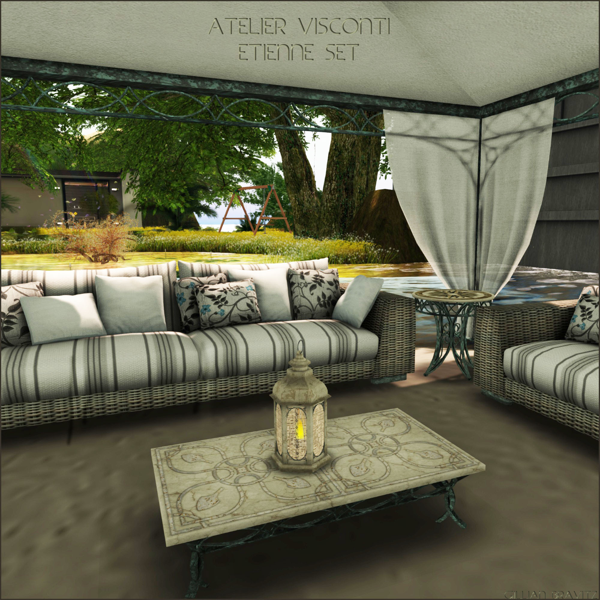 Etienne Set by Atelier Visconti