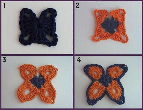 Pasos mariposa paso a paso