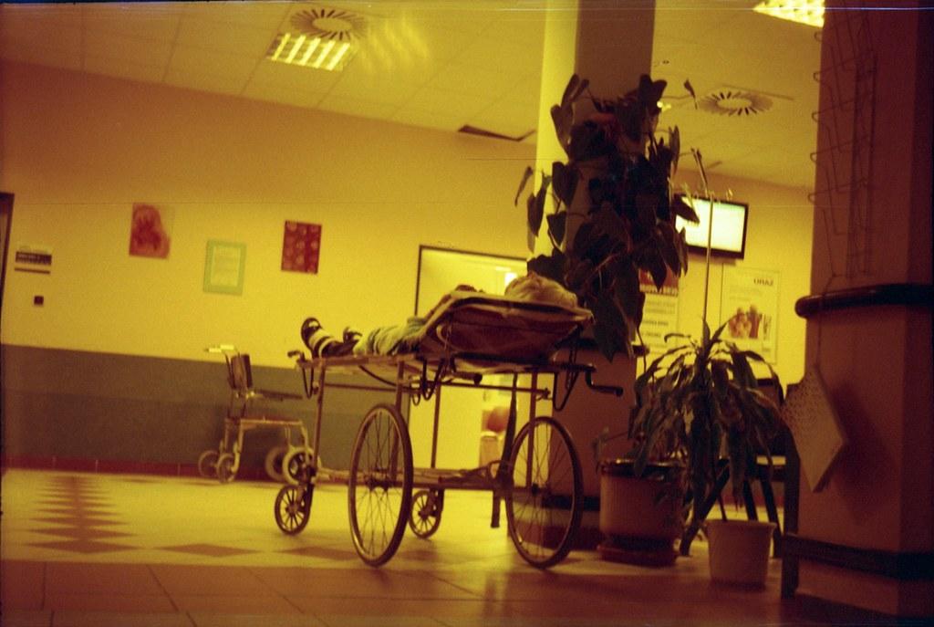 Smena 8M - Redscale - Hospital Reception