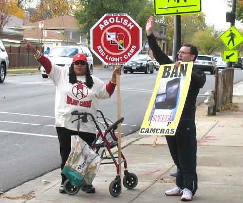 Foster-Avenue-protestors