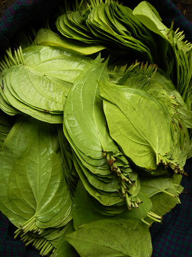 Betel Leaves in the Mandalay Market