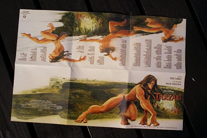 Tarzan soundtrack - Disnerd dreams