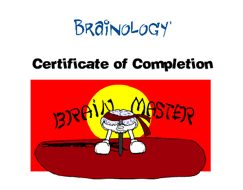 Brainology Completion