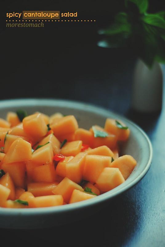 cantaloupe salad