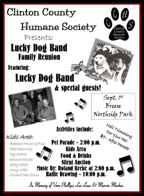 Lucky Dog Reunion 9-1-13