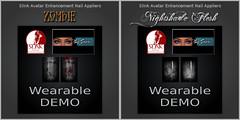 Slink Nails - Zombie & Nightshade Flesh Demos