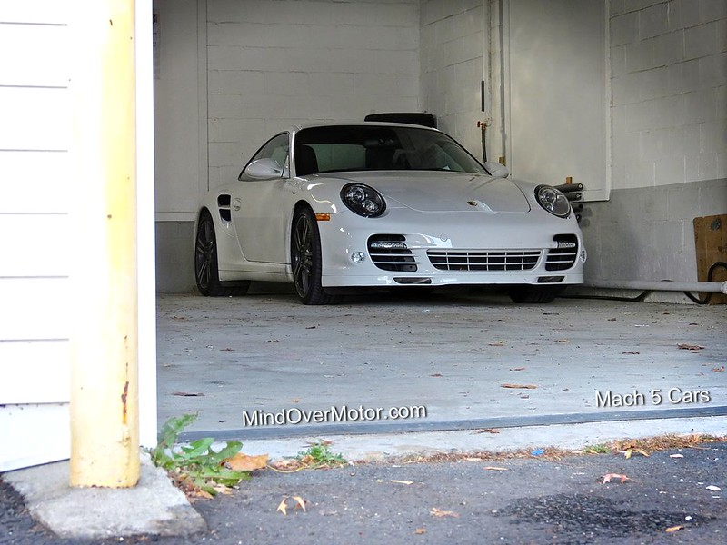 Porsche 997 Turbo S at Mach 5