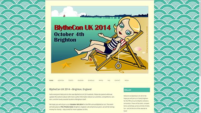 New Site Skin - BlytheCon UK 2014 Brighton
