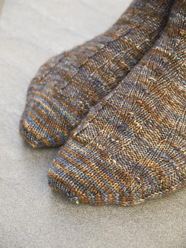 Primavera sock toes