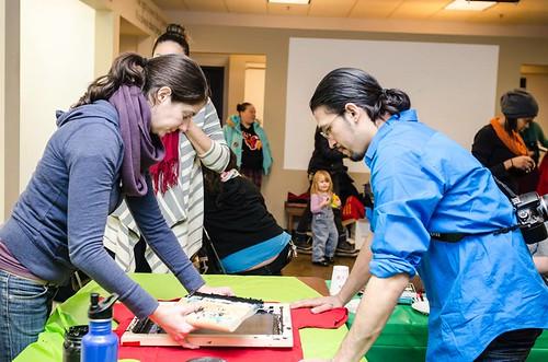 free marissa art party