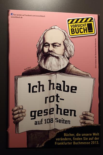 Frankfurt Book Fair - Vorsicht Buch