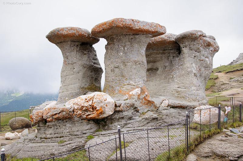 Babele, the old ladies, in Bucegi, Romania