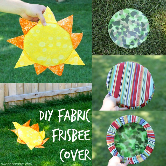 diy fabric frisbee cover