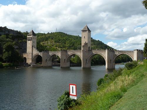 The Valentre Bridge, Cahors