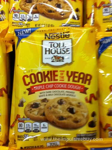 Nestle Toll House Our Cookie of the Year Triple Chip Cookie Dough