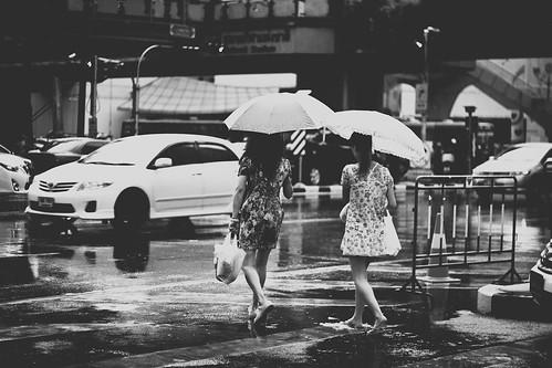 Siam Square - Rain