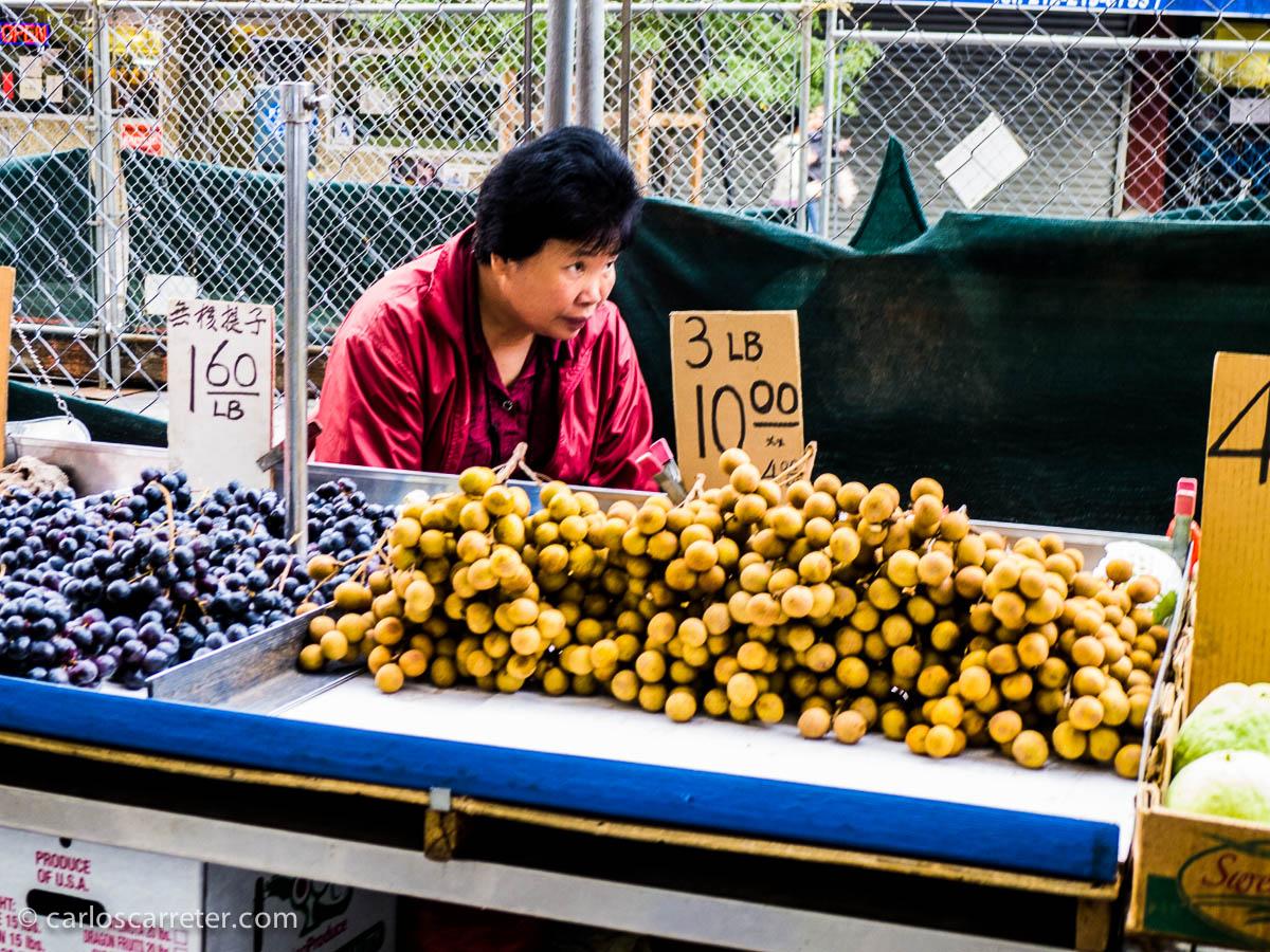 En las calles de Chinatown