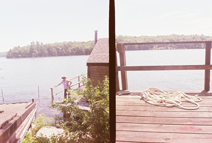 Maine Through A Golden Half Camera 1