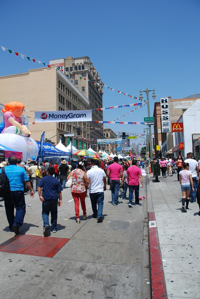 Sunday's Parade at Downtown L.A.