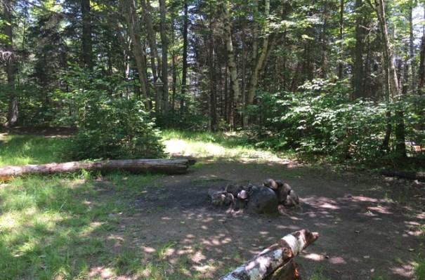 Bigelow Preserve Authorized Campsite